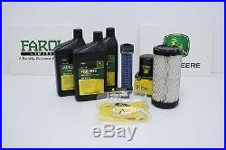 Genuine John Deere Service Filter Kit LG260 X495 X595 6x4 HPX Gator Diesel