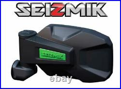 Green Seizmik Strike Side View Mirrors for 2018-2020 John Deere Gator 835 / 865