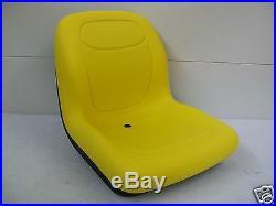 High Back Yellow Seat John Deere Gators, Hpx 4x4, Hpx 4x2,6x4, Xuv 850d, Tx, Th #bi