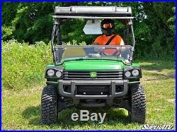 JOHN DEERE GATOR HPX 4x4 XUV 620i 625i 825i XUV 850D FULL FRONT FLIP WINDSHIELD