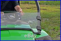 John Deere Gator Hpx Xuv 620i 825i 850 855d Scratch Resistant Half Windshield