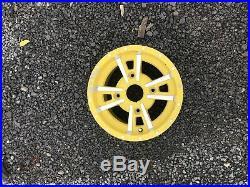 JOHN DEERE GATOR YELLOW ALLOY REARWHEEL 12x7.5 4 LUG RSX860 RSX850 XUV550 XUV560