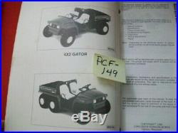 JOHN DEERE TECHNICAL MANUAL 4X2 6X4 GATOR With K-SERIES ENGINES # FE290D & FD620D