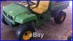 JOHN DEERE TX TURF GATOR WELL MAINTAINED LOW HOURS