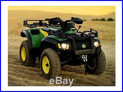 JOHN DEERE WARN WINCH 12V GATOR ATV & COUPLER NOB WithCABLE AM142377 BM21386
