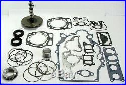 John Deer FD620 / FD661 Engine Rebuild Kit with Camshaft Spur Gear Pistons & Rings