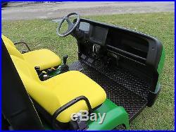 John Deere 2020 Pro Gator Gas 4 Wheel Drive Dump Bed