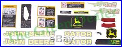 John Deere 4X2 Gator Latest Style Decal Kit