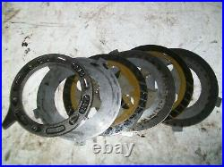 John Deere 4x2, 6x4 Gator Brake Plate Assembly Includes Everything Am878460