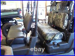 John Deere 550D 590 590i Gator Bench Seat Covers 2012-17 Camo-Solid-USA MADE