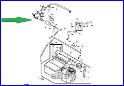 John Deere 620i XUV Gator Fuel Pump AM136232 New OEM Free Domestic Shipping