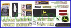 John Deere 6x4 Gator Latest Style Decal Kit