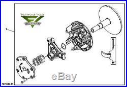 John Deere 825i XUV Gator Primary Drive Clutch AM137721 New OEM Complete