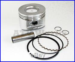 John Deere FD620 FD661 Engine Gasket Rebuild Kit with 2 Standard Pistons and Rings