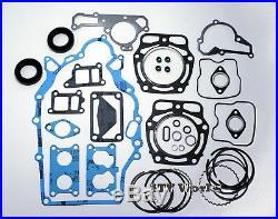 John Deere FD620 FD661 Engine Gasket Rebuild Kit with Oil Seals & Standard Rings