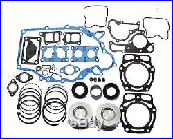 John Deere FD620 FD661 Engine Gasket Rebuild Kit with Oversize Pistons and Rings