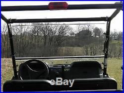 John Deere Gator 2018 560 and 590 2 Pc Vented Windshield-GOOD-FREE SHIPPING