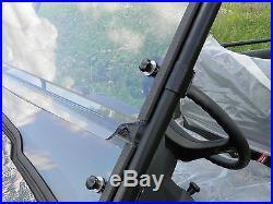 John Deere Gator 550 2 Pc Vented Windshield-BEST-FREE SHIPPING