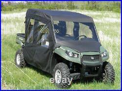 John Deere Gator 550 / 560 / 590 4-Seater Soft Door Kit with Zip Open Windows