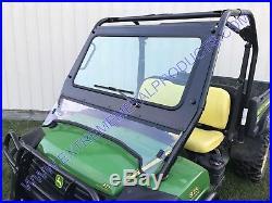John Deere Gator 625i and 825i Laminated Glass Windshield P/N 13476