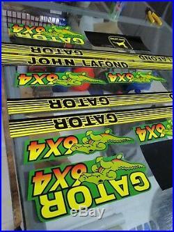 John Deere Gator 6x4 Decal Set Graphics Kit