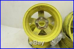 John Deere Gator 825I 15 Set Of John Deere Wheels (F) 14X7 (R) 14X8 23933