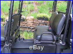 John Deere Gator 825iS4, 2014, Camo, Roof, Pow. Steerg, Manual Dump. Brush Grd