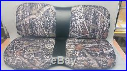 John Deere Gator Bench Seat Covers XUV 550 / S4 in Camo & Black or 45+ Colors