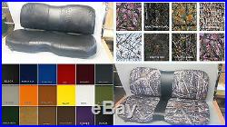 John Deere Gator Bench Seat Covers XUV 855D / S4 in SOLID YELLOW or 45+ Colors