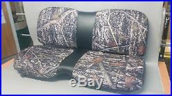 John Deere Gator Bench Seat Covers XUV 855D in BARE TIMBER CAMO
