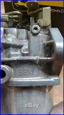 John Deere Gator Carb AM128892 M97280 M97278