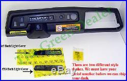 John Deere Gator Dash Panel With Indicator Light Cover