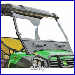 John Deere Gator Fullsize XUV 825i 850D 855D Seizmik Front Versa-Vent Windshield
