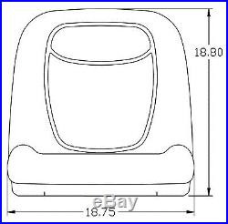 John Deere Gator Pair (2) Camo Seats Fit Diesel Gators Serial# 2298 & Up