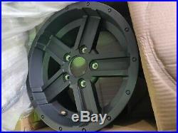 John Deere Gator Rim, Black 14x7.0 114.3/5h Pn M175020