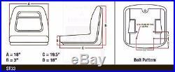 John Deere Gator Seat CS Gator & 4 x 2 Gator