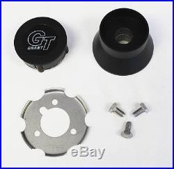 John Deere Gator UTV Grant Black Steering Wheel 13 3/4 x 11 3/4 black spokes