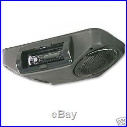 John Deere Gator UTV Overhead Stereo Console With Deck & Speakers Black