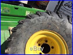 John Deere Gator Wheels & Tires 25x12x9 Itp Mud Lite Tires Ex Cond