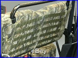 John Deere Gator XUV 550 S4 RealTree Camo Seat Cover Seatback MOLLE Panel