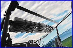 John Deere Gator XUV/RSX 1000w Powered Sound Bar+Bluetooth Controller+Dome Light