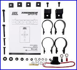 John Deere Gator XUV/RSX MTX Rollbar Six-Speaker Soundbar System withAUX Output