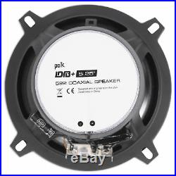 John Deere Gator XUV/RSX Pair Polk Audio 5.25 600 Watt Rollbar Tower Speakers