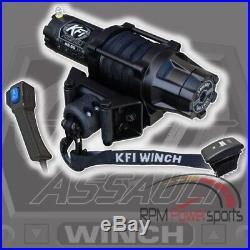 John Deere Gator Xuv 625i/825i/855d Kfi Assault 5000lb Winch & Mount 2011-2015