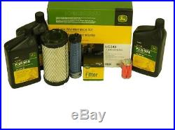 John Deere Home Maintenance Service Kit LG243 X495 X595 4x2 4x4 HPX Diesel Gator