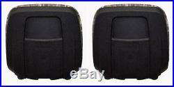 John Deere Pair (2) Gator Camo Seats Fits Gator 6X4 Serial # 20789 & Up
