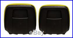 John Deere Pair(2) Yellow Seats fit Gator 4X2HPX 4X4HPX and 4X4Trail HPX Series
