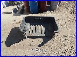 John Deere XUV 550 Gator Utility Vehicle 12 Box Bed 12589