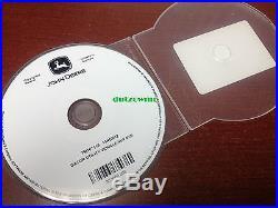 John Deere XUV 825i GATOR dealer technical service tech manual on CD TM107119