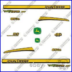 John Deere XUV 850D Decal Kit Utility Vehicle Gator Decal 3M Vinyl